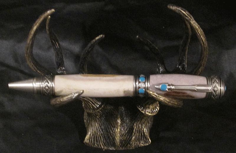 Deer antler and  Arrow Pen